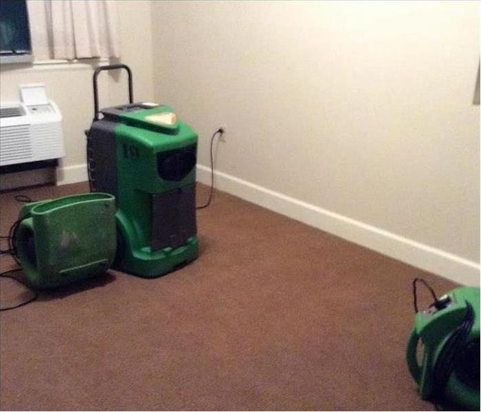 SERVPRO Equipment for Water Damage