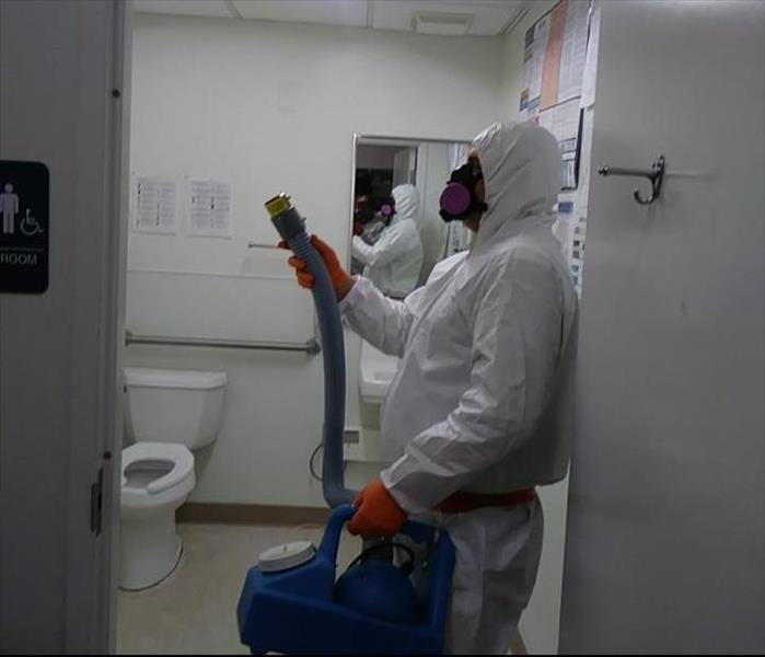 COVID-19 Cleaning in PPE